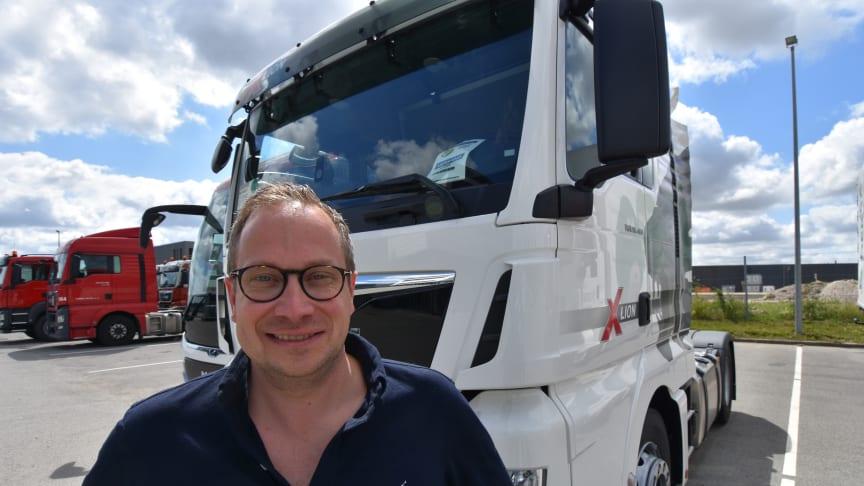 Magnus G Karlsson, interims-VD för MAN Truck & Bus i Skandinavien