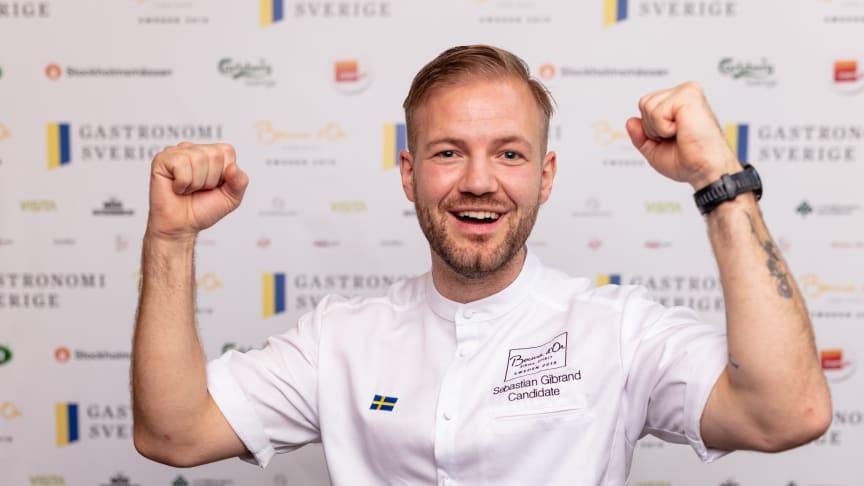 Sebastian Gibrand tävlar för Sverige i Bocuse d'Or 2020-2021