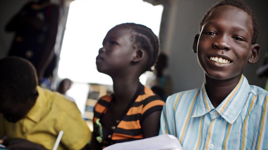 400 000 barn får gå tillbaka till skolan i Sydsudan