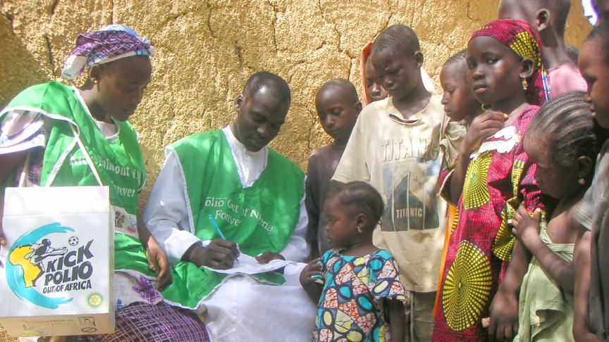Konsten att vaccinera 111 miljoner barn på fyra dagar