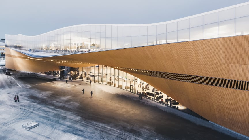 The winner of 2019: Oodi Library, Helsinki