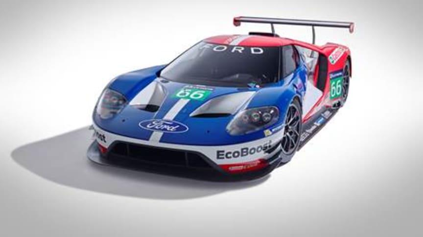 Ford tilbake på Le Mans i 2016 med nye Ford GT for å markere 50-årsjubiléet for 1966-seieren