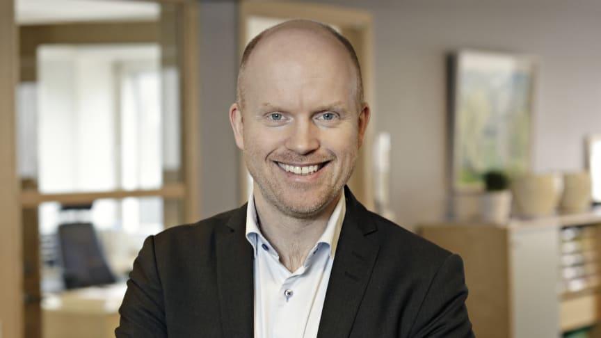 Jimmy Ahlstrand, tillträdande chef för Corporate Affairs på Telenor Sverige.