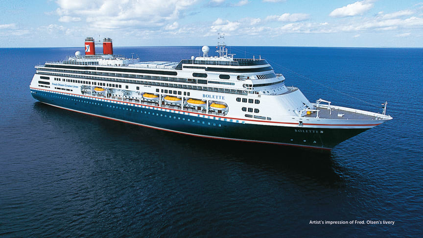 Fred. Olsen Cruise Lines announces revised 'back in service' dates as company prepares for cruising in 2021