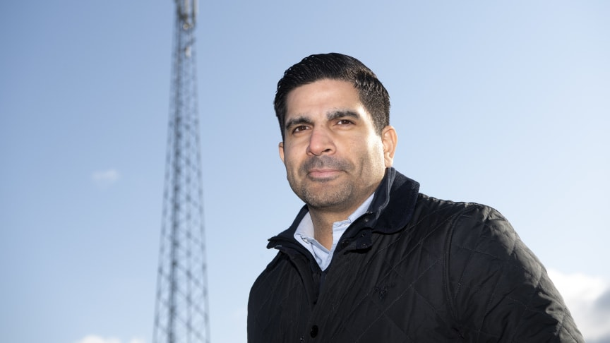 Andres Suazo, nätexpert på Telenor Sverige