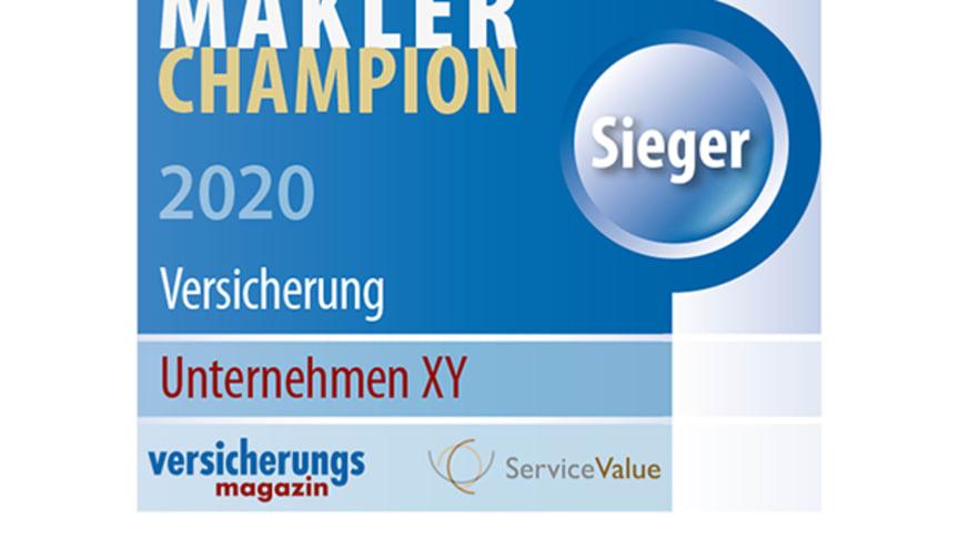 Makler-Champions 2020: Wer den besten Service für Makler bietet