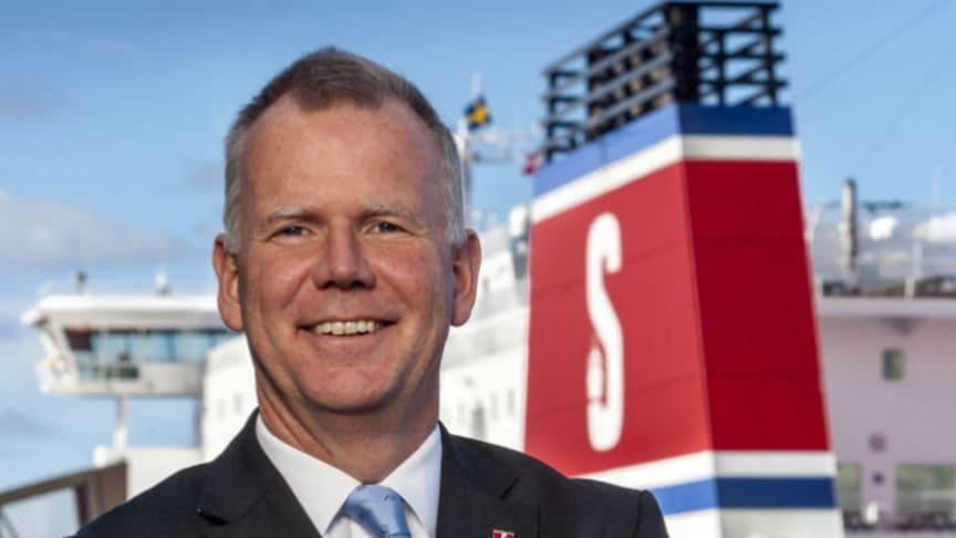 Carl-Johan Hagman, Head of Shipping and Ferries på Stena, är en av huvudtalarna på Logistik & Transport