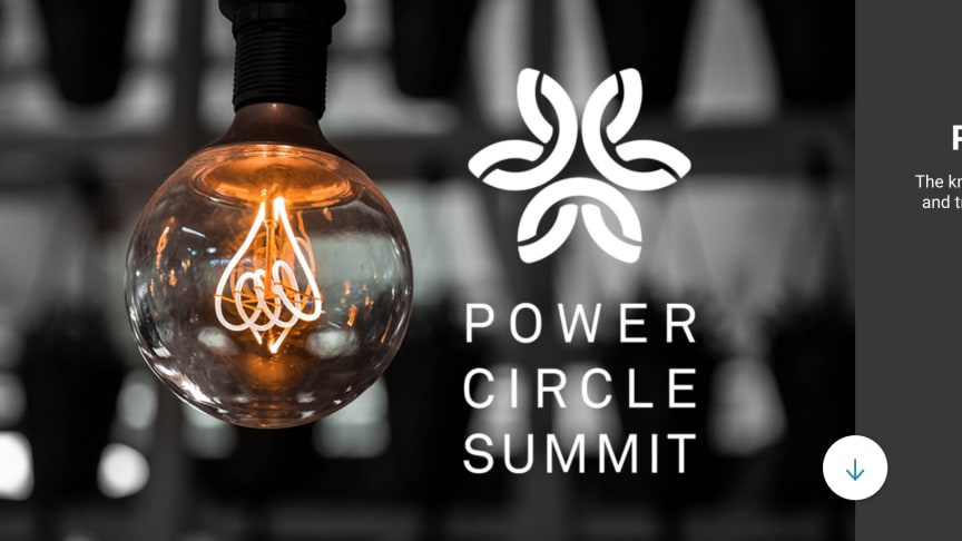 Den 5-6 maj 2020 anordnas strategikonferensen för energiområdet - Power Circle Summit, på Münchenbryggeriet i Stockholm. Årets tema är Smart elektrifiering för framtidens näringsliv och växande städer.