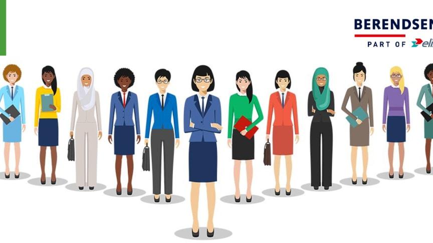 41 % af Berendsens ledere er kvinder – og diversiteten styrker trivslen