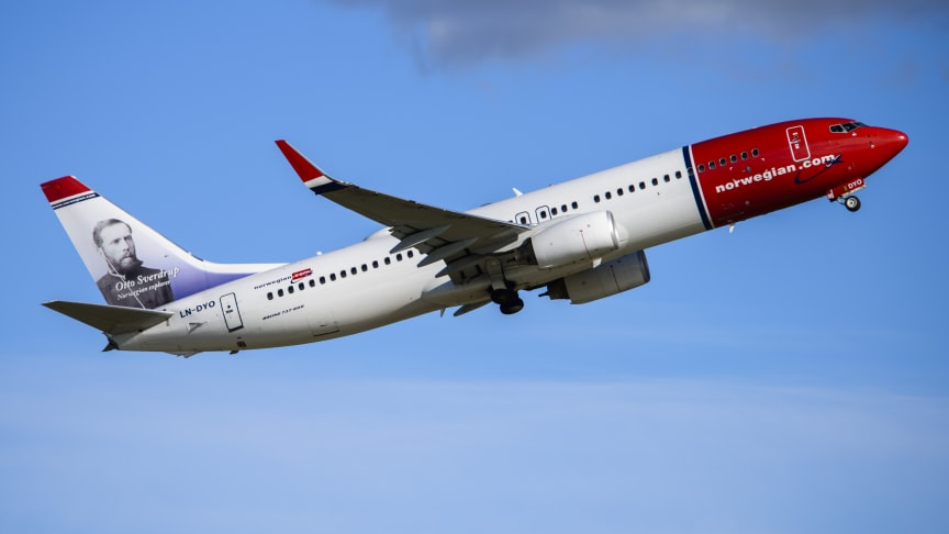 Norwegian is voted Europe's Leading Low- Cost Airline 2020 for 6th consecutive year