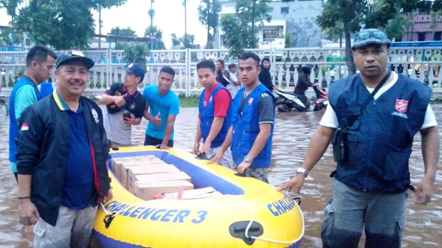 Salvation Army teams in Jakarta