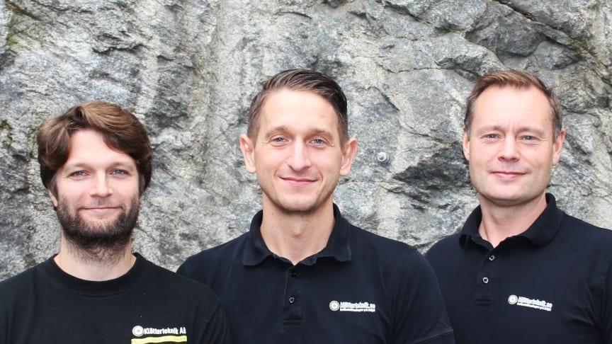 Mattias Malmqvist , Aleksandar Milosevic och Christian Persson