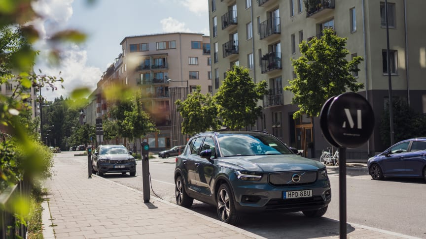 Volvo Car Mobility's car sharing service M goes electric in 2022