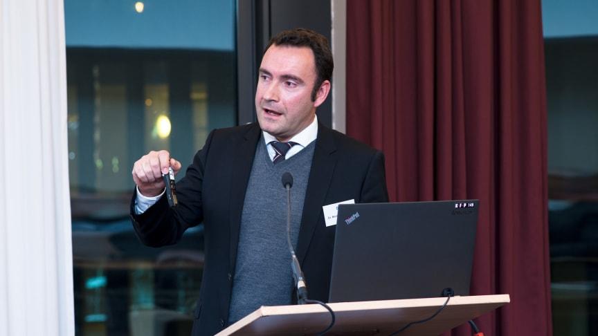 Dr. Michael Hollmann auf dem 13. Bundeskongress der Deutschen Gesellschaft für Integrierte Versorgung im Gesundheitswesen