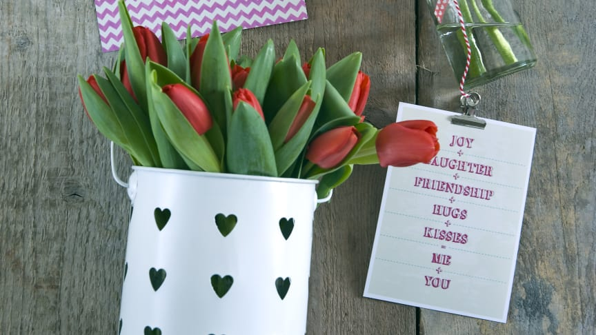 Ge kärlek, ge tulpaner!