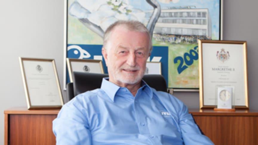 A Dán paplan király, a JYSK alapítója Lars Larsen 71 éves korában elhunyt