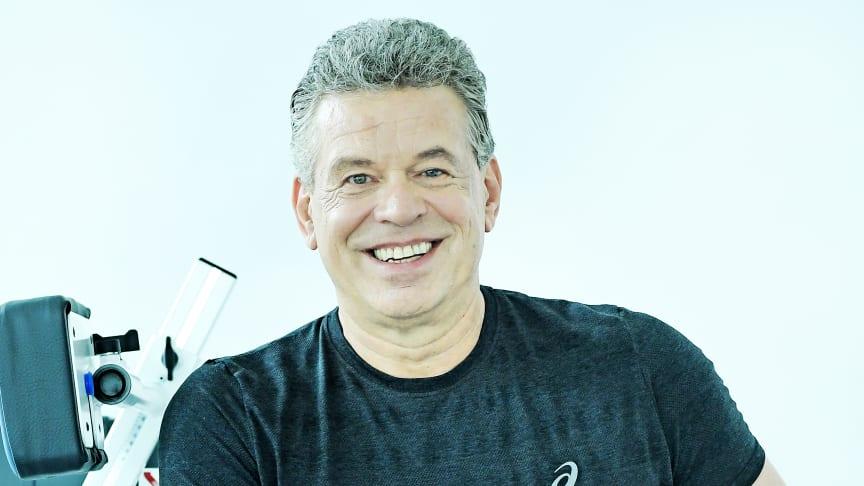 Jürgen Hingsen, Zehnkampflegende, wird das neue FPZ Rückenzentrum in Oberursel eröffnen.