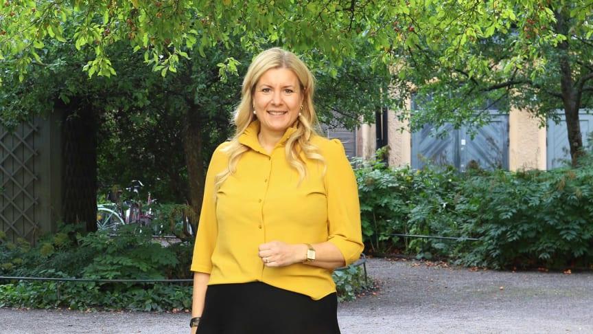 Linda Åstrand ser fram emot sitt nya uppdrag som ordförande i BizMakers bolagsstyrelse. Foto: Forefront Consulting