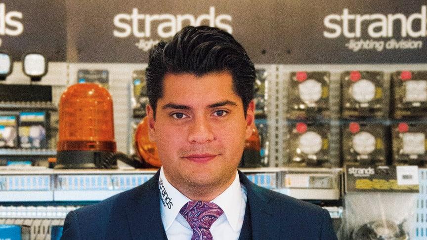 Nye VD:n Johan Carlos lägger fokus på ökad tillväxt hos Strands egna varumärken