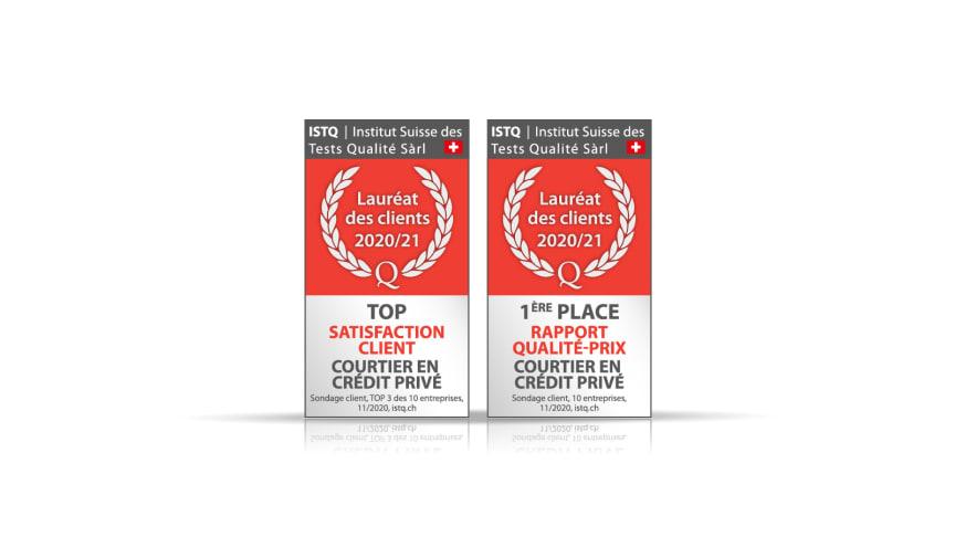 FinanceScout24 : Lauréat dans la catégorie rapport qualité-prix