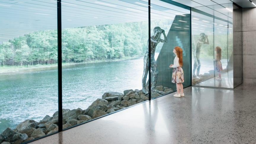 The Twist at Kistefos museum - Photo: Einar Aslaksen