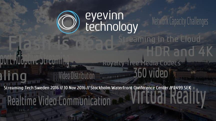 Streaming Tech Sweden 2016