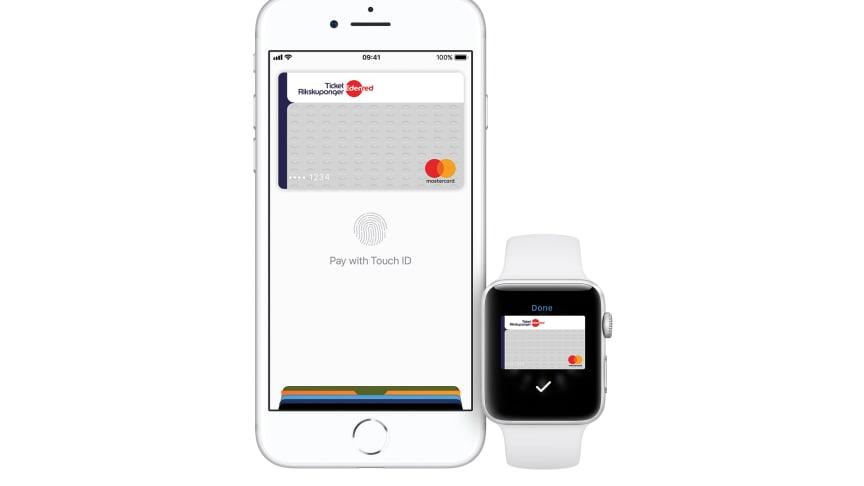 Edenred Sweden brings Apple Pay to Ticket Rikskuponger® cardholders