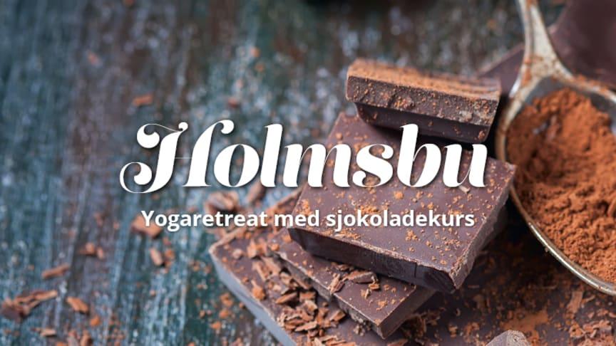 Sjokoladekurs + yoga = sant