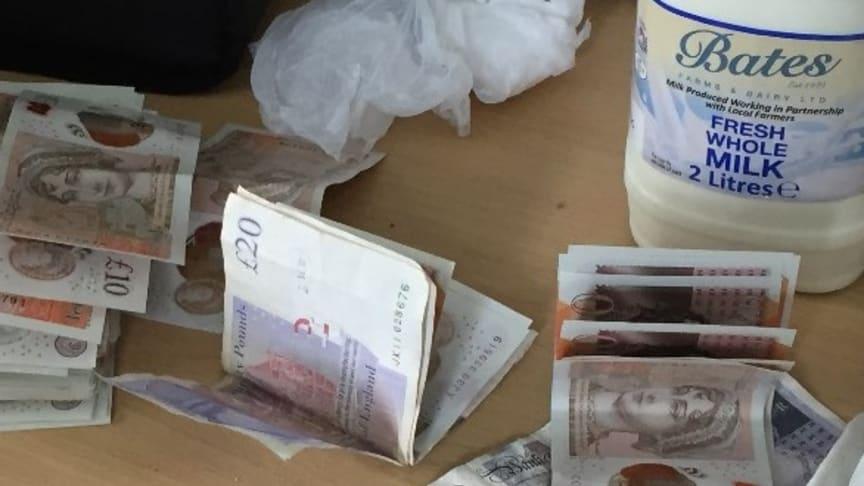 Cash seized in Norris Green