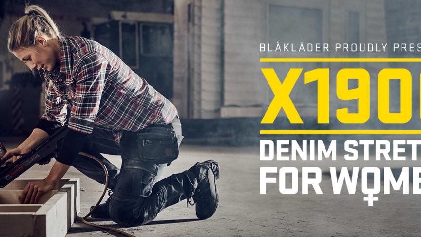 Produkteinführung Damen Handwerkerhose Stretch (7990)