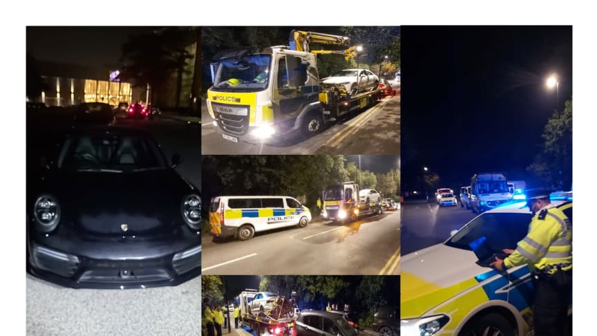 Twenty-one vehicles seized in 'car meet' operation