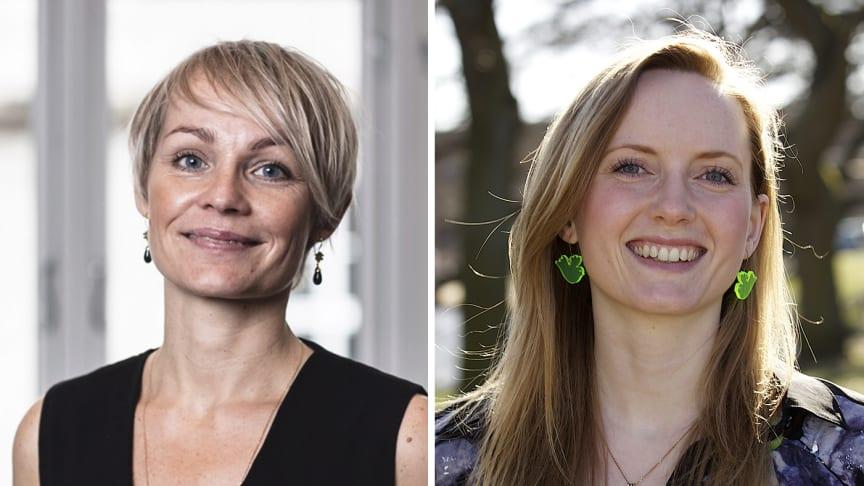 Stine Rosengren – foto: Büro Jantzen. Susanne Hjelm Pedersen – foto: Benjamin Pomerleau