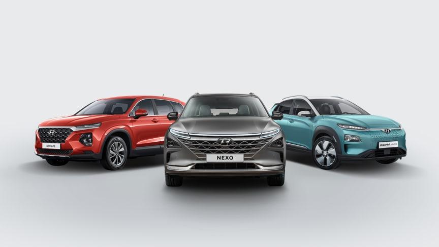 Helt nye Hyundai KONA electric kombinerer to av de viktigste trendene i bilmarkedet; elbil og kompakt-SUV