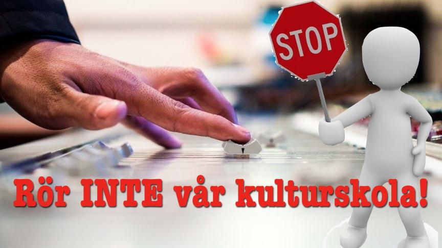 Nu över 200 underskrifter till stöd för Kulturskolan Garnalia i Lindesberg