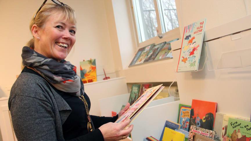 Helsingborgs äldsta förskola inviger stadens första förskolebibliotek