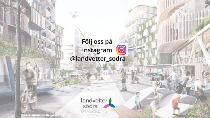 Landvetter Södra finns nu på Instagram
