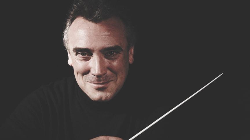 Chefdirigent Jaime Martín förlänger med Gävle Symfoniorkester