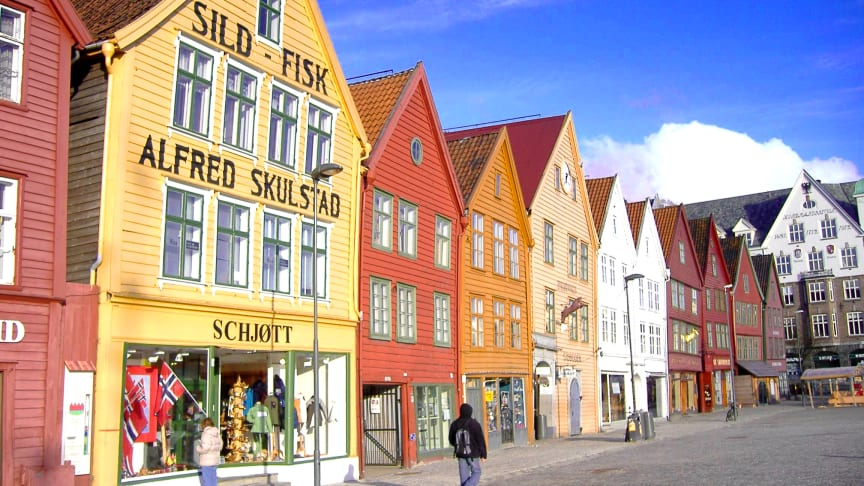 MUST-SEE: Bryggen in Bergen is a UNESCO World Heritage site. Photo: Andrea Giubelli - Visitnorway.com