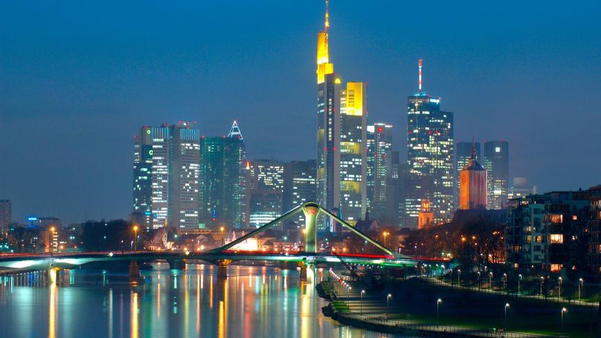 Frankfurt / Main, Tysklands eneste skyline