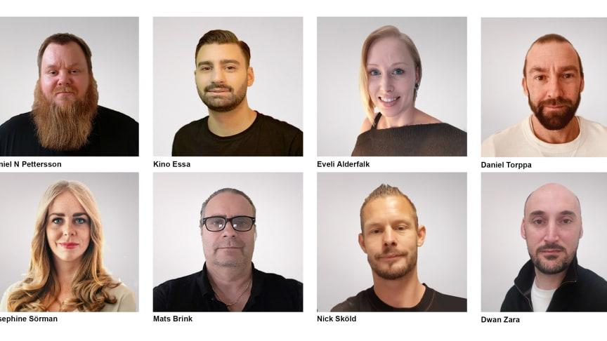Nordic PM utökar arbetsstyrkan med åtta nya medarbetare