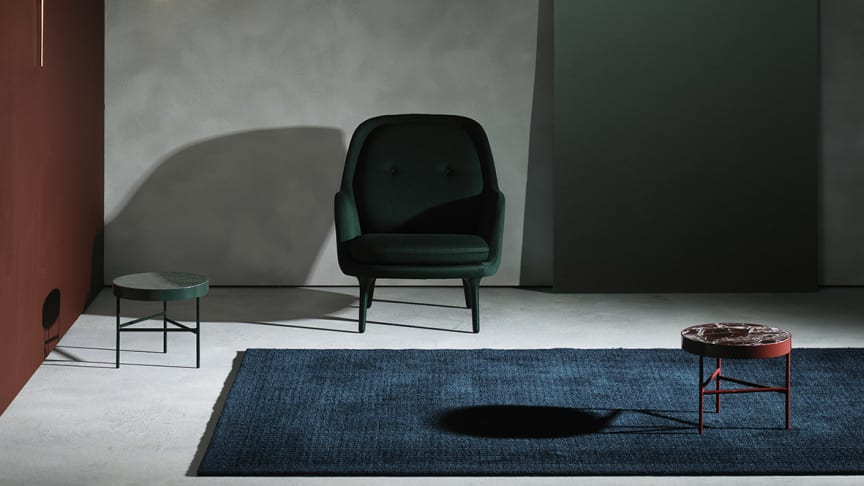 INTERNATIONAL ARCHITECTURE INFLUENCES KASTHALL'S NEW RUG DESIGNS.