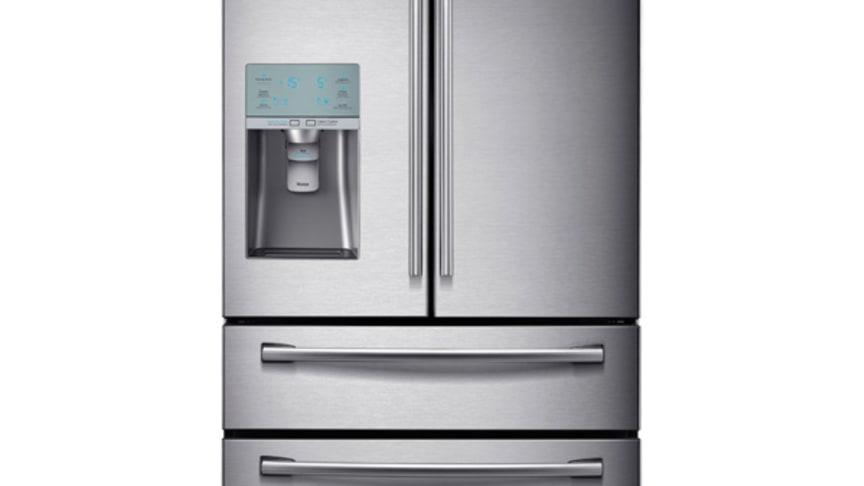 Samsungs bubblande kylskåp nu i butik!