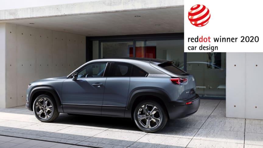 Red Dot design-utmärkelser till Mazda CX-30 och Mazda MX-30