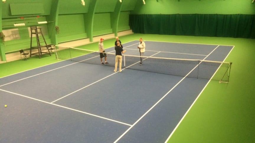 Ny tennisbeläggning till Elfsborg Tennis