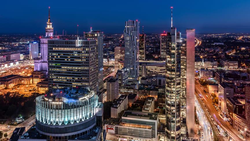 Warszawa, Polen. Foto: City of Warsaw.