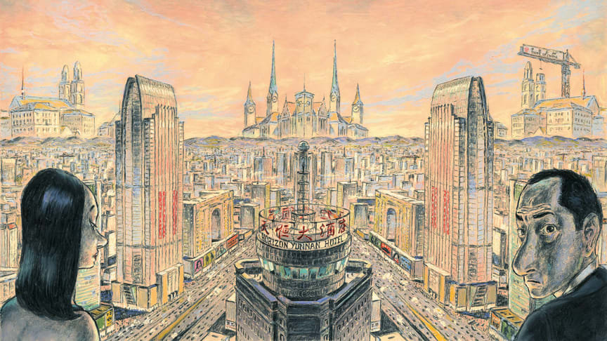 Spectacular strips: comics in architecture, architecture in comics