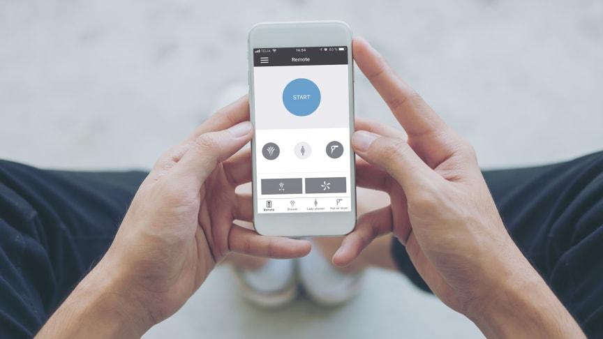 App-solut innovation til badeværelset