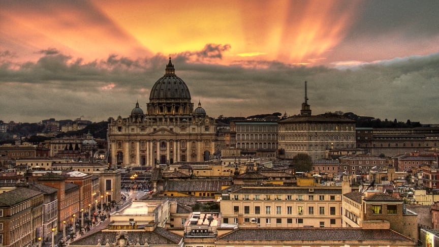 The Vatican is being sued by a street artist for allegedly reproducing her artwork without permission.