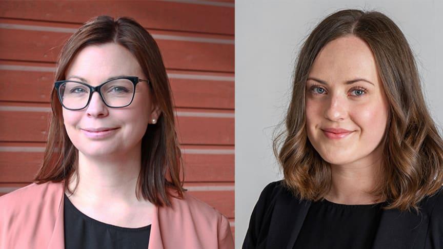 Nina Rismalm, Smart City Sweden och Elin Stenvall, Norrbottens Handelskammare