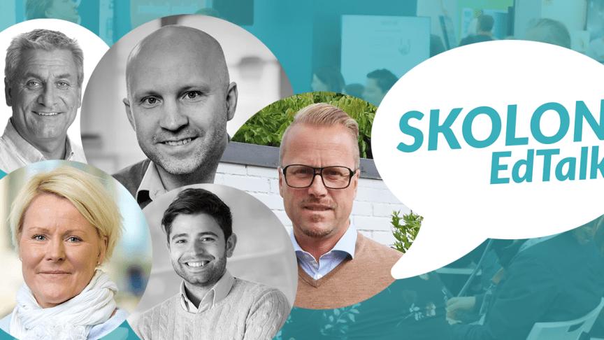 Skolon EdTalk kommer till Malmö - kostnadsfri fortbildning för skolvärldens IKT-intresserade